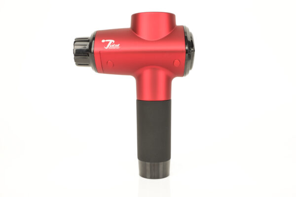 Red Total Massage Gun 2.0 With Heat and Cold Attachments