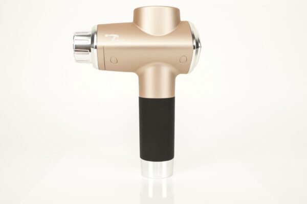 Rose Gold Total Massage Gun With Heat and Cold Attachment